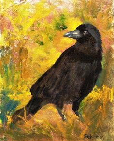 crow paintings prints - Google Search