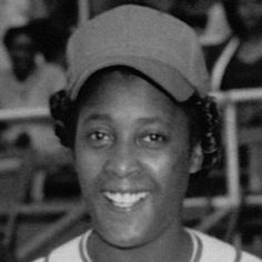 Toni Stone. The first woman to play on a professional men's baseball league.