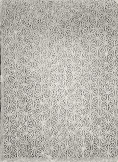 http://www.art-tarkasis.gr/index.php Carta di Riso Naturale perforata realizzata a mano,ad effetto pizzo - Dim. 50x70 cm Minimo d'ordine: 5 Fogli