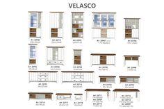 LifeStyle Wonen / Velasco highboard