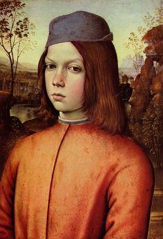 Pinturicchio  Portrait of a Boy (c. 1500), Gemäldegalerie Alte Meister, Dresden, Germany