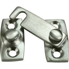Need something like this to finish can rack. Deltana SB3058U15 Shutter Bar Window Latch Brushed Nickel
