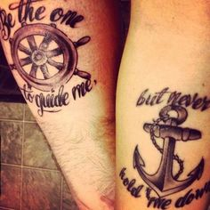 Couple tattoo - Inked Magazine