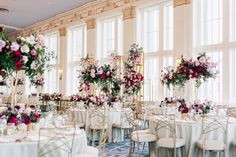 Every inch of Alessandra and Michael's wedding planned by Fab Fete is bursting with love, glamour, and lots of colour. Purple Tree captures all the stunning details. Purple Trees, Event Decor, Color Combinations, Wedding Events, Wedding Planning, This Is Us, Glamour, Table Decorations, Luxury