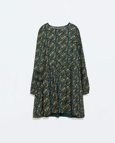 Image 6 of BASIC PRINT DRESS from Zara