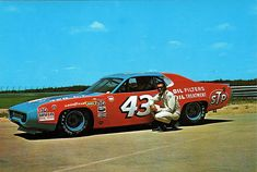 Richard Petty.  I miss the old NASCAR.   #RichardPetty