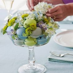 Deco&Relooking: Decoraţiuni pentru masa de Paşte