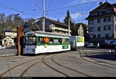 1922 VBZ Verkehrsbetrieb Zurich Xe4/4 at Zurich, Switzerland by John Wiesmann