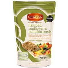 Linwoods Milled Organic Flaxseed Sunflower & Pumpkin Seeds   Linwoods - Official Trade Sports Nutrition Distributor   Tropicana Wholesale
