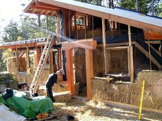 An Overview of Alternative Housing Designs: Part 2 - Covered Straw-Bale, Earthship, Earth-Sheltered, and Cordwood Homes.