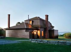 Maine Studio of Winslow Homer (mighty fine mansard roof)