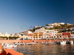 Main Port of Ponza, Italy