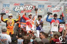 The GNCC series landed in South Carolina last weekend.  Charlie Mullins, Kailub Russell, and Thad Duvall swept the podium under clear skies.