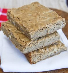 Gonna Want Seconds: The Perfect Classic Blondies- eh, not crazy about these