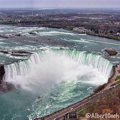 Niagara Falls (Canadian Side) in Niagara Falls, ON. Echt schitterend
