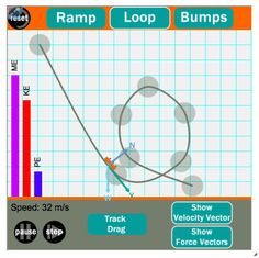 This HTML5 Interactive allows learners to explore a variety of concepts associated with roller coaster physics. Part of The Physics Interactives collection. Great tool for 1:1 classrooms; works on iPads, Chromebooks and mobile devices.
