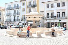 Praça do Giraldo, Giraldo square, Évora