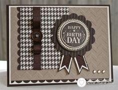 """Stampin' Anne: DD#13 - """"Brown"""" Ribbon Birthday"""