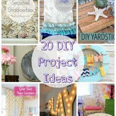 20 DIY Project Ideas