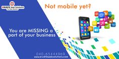 You are missing a part of your business more info-> http://www.eruditewebsolutions.com/mobile_applications.html #MobileApplicationDevelopment #ApplicationDevelopment #MobileApplicatio #AppDevelopment
