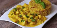 Horčicovo-citrónové kura s tarhoňou - Tinkine recepty Poultry, Cantaloupe, Risotto, Cauliflower, Mashed Potatoes, Macaroni And Cheese, Curry, Chicken, Fruit