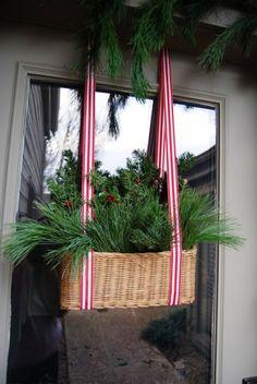 ciao! newport beach: festive christmas doors