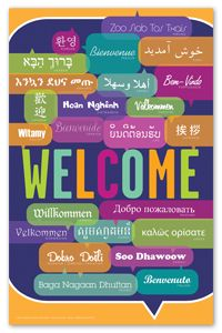 Welcome Poster - New Products - Posters - Products for Children - Products for Young Adults - ALA Store