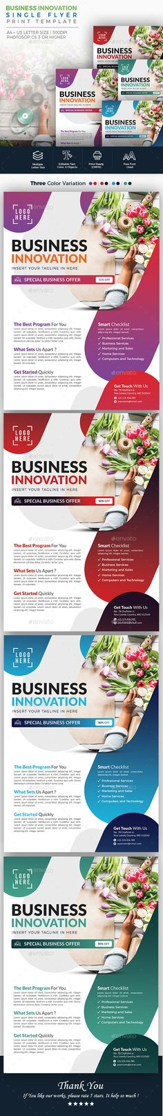 #Business Innovation #Flyer - #Corporate Business #Cards