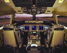 boeing 737 cockpit photo