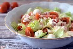 Mozzarella, Cobb Salad, Potato Salad, Cabbage, Salads, Potatoes, Vegetables, Ethnic Recipes, Food
