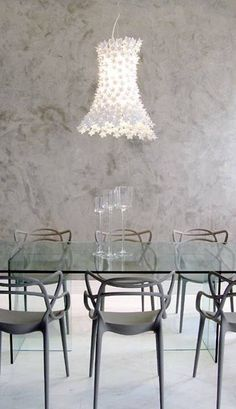 Master by Philippe Starck and Eugeni Quitlet Bloom By Feruccio Laviani Philippe Starck, Masters Chair, Kartell, Piece A Vivre, Dining Table Chairs, Dining Rooms, Dining Room Design, Interior Design Living Room, Diy Home