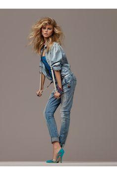 Maryna Linchuk par Giampaolo Sgura pour Vogue Paris - Février 2010