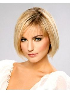 Beatiful Bob Cut Human Hair Lace Front Wig
