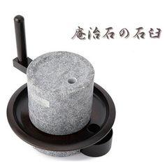 石臼 コーヒーミル 庵治石 coffee mill grinder