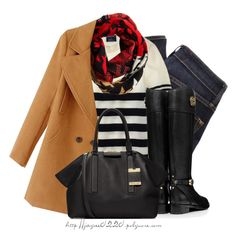 A fashion look from November 2014 featuring J.Crew sweaters, MARC BY MARC JACOBS jeans and Tory Burch boots. Browse and shop related looks.