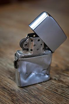 Click to find out how this Zippo lighter saved a Vietnam War Veteran's life! #VietnamMemories