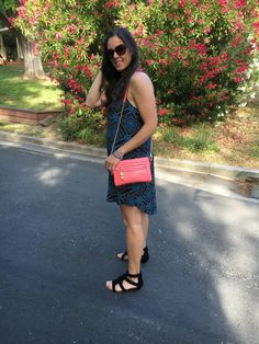 Moody Shift + Fringe | how to style  a print dress | spring style | spring fashion | styling for spring and summer | fringe sandals outfit | warm weather fashion | style ideas for spring | fashion tips for spring || The Flexman Flat