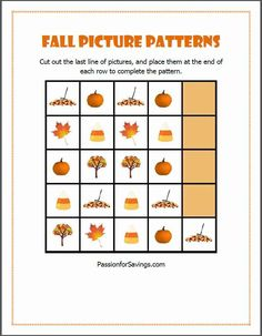 Here are 3 Fun Fall Printable Worksheets for Kids. Great for Homeschoolers or Classrooms.