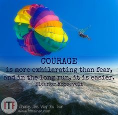 Who's feeling #courageous today? #quote #motivation
