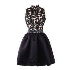 Real Photos High Neck Cute 8th Grade Graduation Dresses Applique Beaded Waist Black Short Homecoming Dresses 2016 CS004
