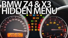 How to enter hidden menu in #BMW #Z4 (E85 E86) & X3 (E83) service test mode