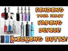 Selecting Your FIRST Vaping Device! Kicking Butts! – Vaping Jill