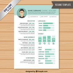 18 Best Resume Images Resume Templates Sample Resume Creative