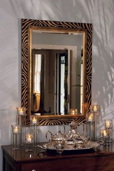 Absolutely love mirrors and this one is just a great one im going to have to find or make this!