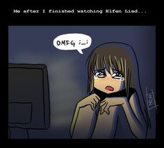 What happens after you watch Elfen Lied