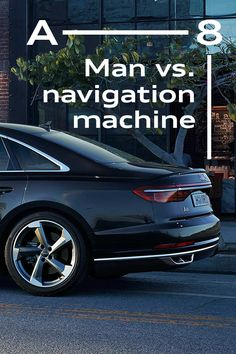 Audi technology literally leads the way: Can the HERE navigation system beat a local taxi hero? Audi A8, Taxi Driver, Man Vs, Hinata, Bugatti, Nissan, Super Cars, Reflection, Bmw