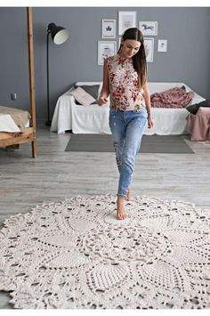 Free House Rug Patterns To Refresh Your Decor Ideas New 2020 – Page 12 of 30 – crochetsample. com crochet carpet;