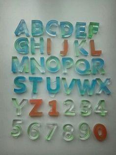 alphabet by Keiko Arai