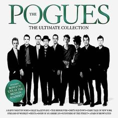 Alhough they are a favorite band of all time for me, get into the spirit of St Patty's coming up by broadening your horizon and listening to The Pogues!
