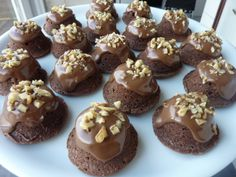 Mini Brownie-cakes